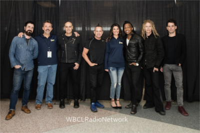 Scott and Tiffany with Newsboys